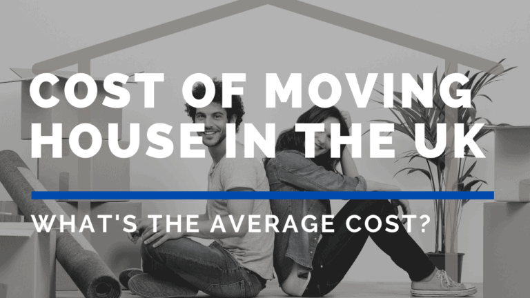 the cost of moving house in the UK is