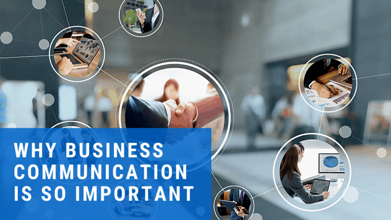 why business communication is important