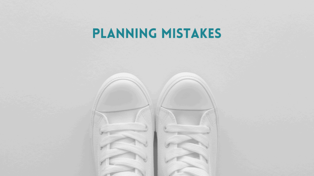 using a business plan for mistakes