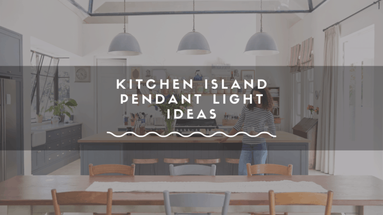 pendant lighting for the kitchen island