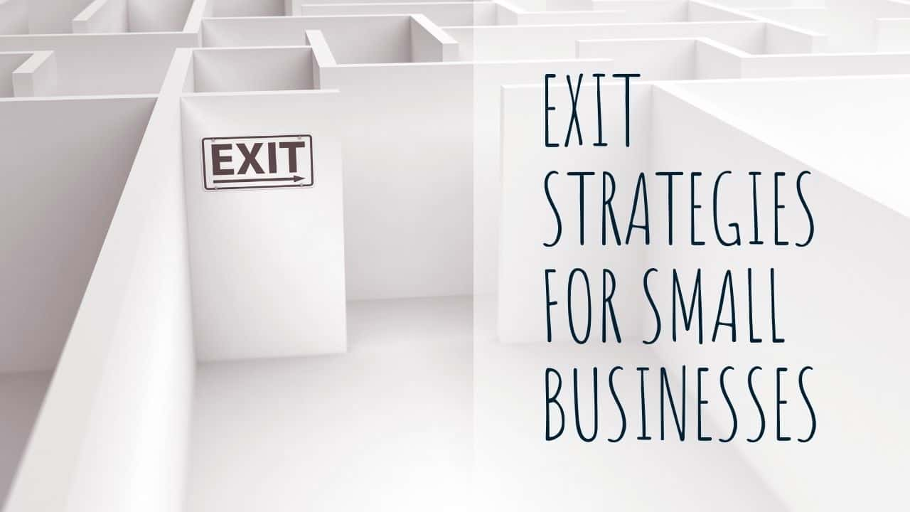 exit strategies for small businesses