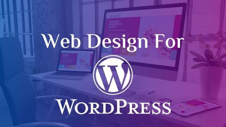 web design help for wordpress