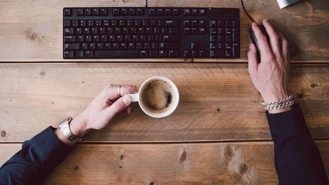 coffee for staff members