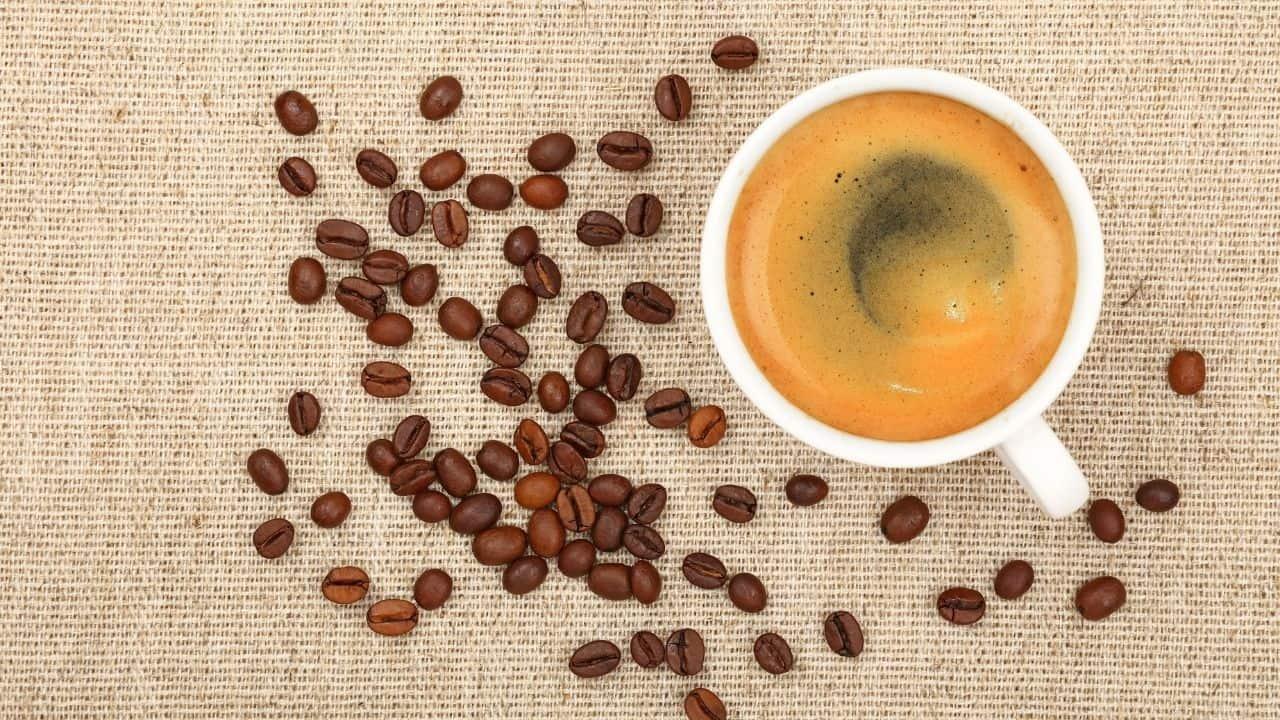 the long black coffee