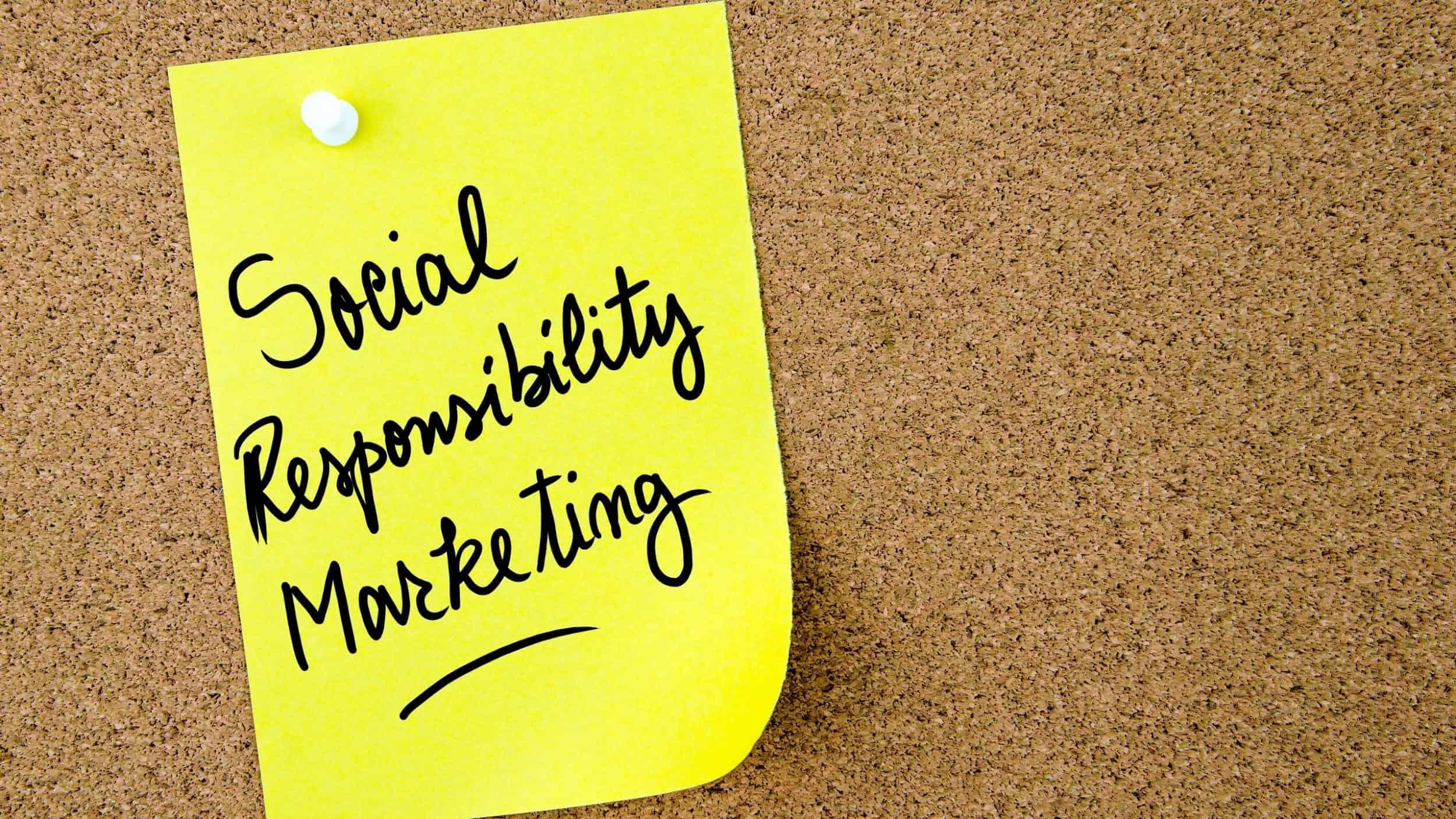 social responsibility marketing